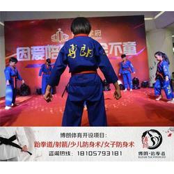 金华少儿跆拳道培训、少儿跆拳道培训机构、博朗(优质商家)图片