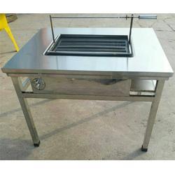 开阳无烟烧烤桌-旭龙厨房设备-无烟烧烤桌子图片