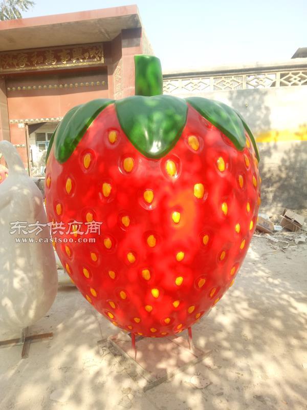 大庆水果雕塑、鑫森林雕塑、玻璃钢水果雕塑图片