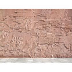 松鹤石浮雕铸造厂家-保定石浮雕铸造厂家-鑫森林雕塑(查看)图片
