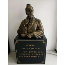 仿铜名医半身雕塑,南昌仿铜名医半身雕塑,鑫森林雕塑图片