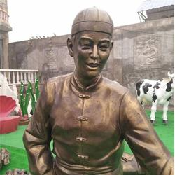 江苏玻璃钢仿铜雕塑厂家图片