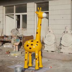 江苏长颈鹿卡通雕塑-鑫森林雕塑-长颈鹿卡通雕塑报价图片