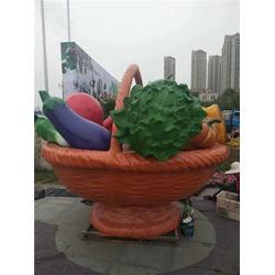 鑫森林雕塑(多图)淮北茄子玻璃钢雕塑公司图片