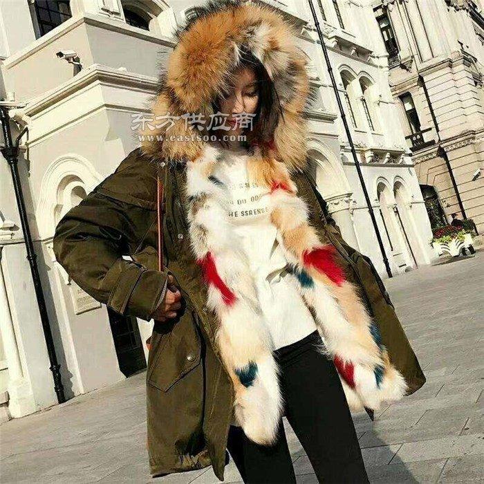 羊剪绒大衣厂家_四平羊剪绒大衣_莎奴服饰一手货源图片