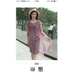 潮牌精品品牌女装尾货、莎奴服饰货源、郴州品牌女装尾货图片