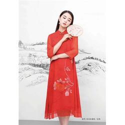 大码女装品牌尾货厂家-莎奴服饰厂家直销-延边大码女装品牌图片