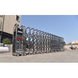 不锈钢伸缩门生产商|淮安不锈钢伸缩门|南京致胜厂家(多图)图片