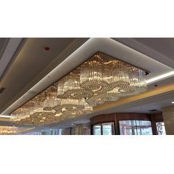宁波酒店水晶灯-安徽维加斯灯饰厂非标定制-亳州酒店水晶灯图片