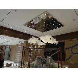 固原非标工程灯-宁夏维加斯灯饰厂非标定制-大堂非标工程灯图片