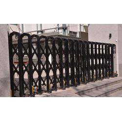 廣福電動伸縮門廠 電動自動伸縮門-商丘伸縮門圖片