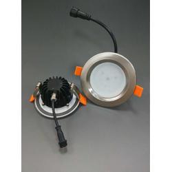led防水筒灯套件18w游泳池防水筒灯外壳cob天花灯嵌入式筒灯套件外壳图片