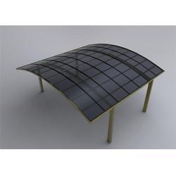 铝合金雨棚实景效果图、铝合金雨棚、基恩铝艺(查看)图片