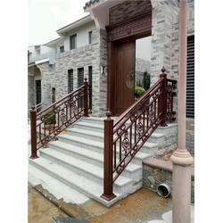 铝合金楼梯扶手|基恩铝艺|铝合金楼梯扶手图片