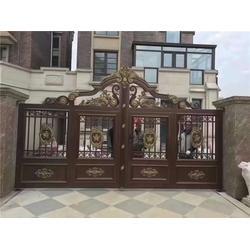 庭院门厂家 基恩铝艺 庭院门图片