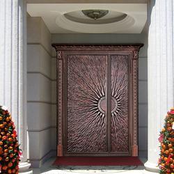威海铸铝门,基恩铝艺,铸铝门 厂家图片