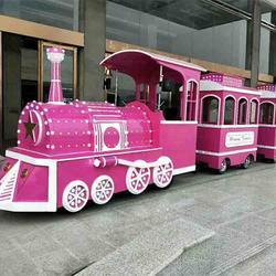 观光小火车豪华款户外大型游乐设备图片