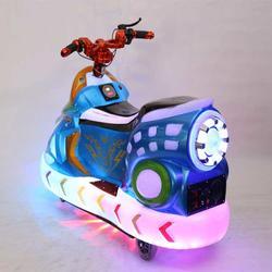 炫光摩托双人儿童电动广场车游乐车乐吧车碰碰车广场游乐设备户外图片