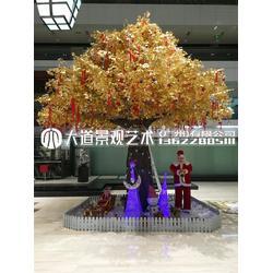仿真大型榕树假树植物装饰酒店大厅婚庆装饰绿植图片