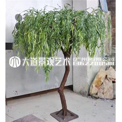 仿真柳樹樹皮裝飾道具圖片