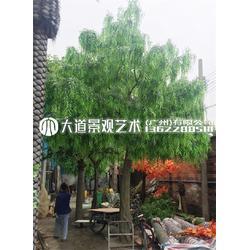 假柳树仿真柳树条室内树造型树装饰假树假柳树枝橱窗道具绿柳图片