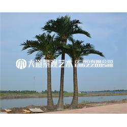 仿真椰子樹室內外熱帶綠植假盆栽大型商場裝飾酒店落地假樹棕櫚樹圖片