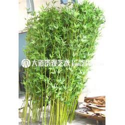 仿真竹子 假竹子 装饰隔断屏风绿植造景室内客厅装饰塑料竹子毛竹图片