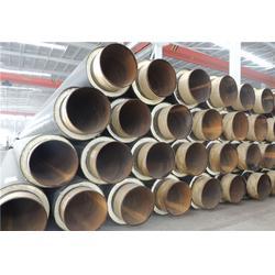 无缝直埋保温管道生产厂家,万福保温,直埋保温管道图片
