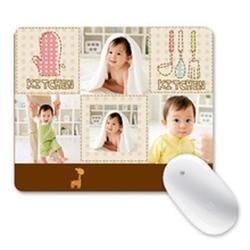 杭州满月礼品鼠标垫|葵力橡塑|定制满月礼品鼠标垫图片