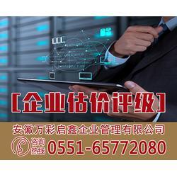 企业估价评级费用-安徽万彩(在线咨询)四川企业估价评级
