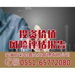 项目投资风险评定报告|上海项目投资|安徽万彩价格