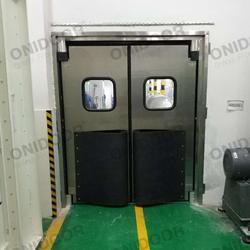 厂家直销304不锈钢防撞自由门图片