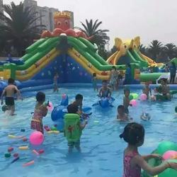 水上游乐设施_巨旗展览图片