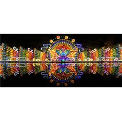 巨旗展览 彩灯设计-彩灯图片