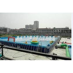 支架水池-移动水上乐园-支架水池安装图片