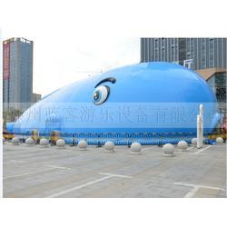 鲸鱼岛气模_蓝客游乐设备_鲸鱼岛气模活动图片