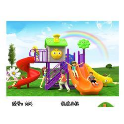 儿童组合滑梯-蓝客游乐设备-儿童组合滑梯生产图片