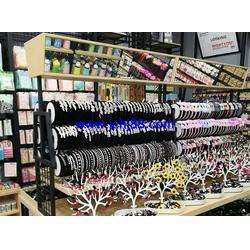 伶俐饰品货架展柜厂、广州货架、货架展柜图片