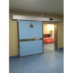宏兴防辐射自动平移铅门厂家提供上门安装图片