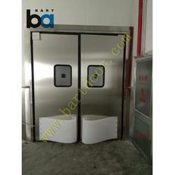 防撞自由门防撞门面包店专用自由门面包加工车间自由防撞门图片
