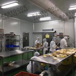 防撞门巴特定制不锈钢防撞自由门嘉旺中央厨房防撞门厂家直销保证图片
