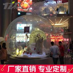 透明空心球亚克力圣诞装饰球开业吊饰天花板装饰挂件图片