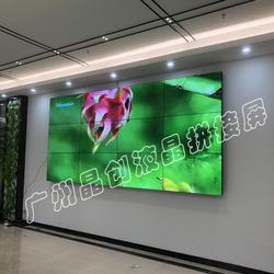 46寸超窄边液晶拼接墙|超窄边液晶拼接墙|广州晶创(查看)图片
