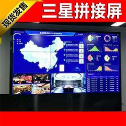 茂南区液晶拼接屏,广州晶创,液晶拼接屏电视墙图片