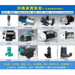 污水泵功率-许昌污水泵-凌霄泵业种类齐全(查看)图片