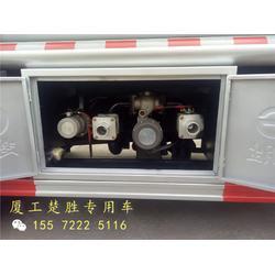 油罐车-楚胜公司-篮牌油罐车加油车图片