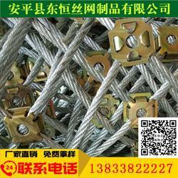 主动被动防护网 SNS柔性防护网 缠绕型环形网 缆索护栏施工--安平东恒图片