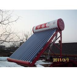 别墅太阳能热水系统_太阳能热水_华春新能源图片