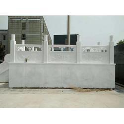 校园旗台石栏杆图片