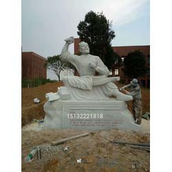 传统人物石雕像图片